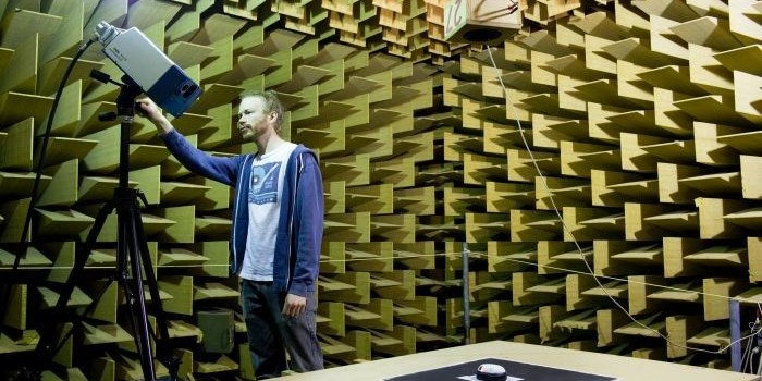 Small Anechoic Chamber (Photo: Torben Nielsen)